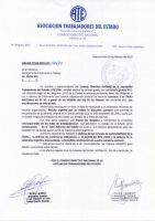 Paro Nacional: comunicacion oficial